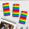 Image of Rainbow Puzzle Phone Case