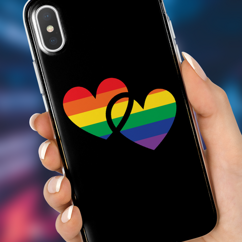 Pride Hearts Phone Case