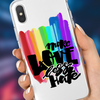 "Image of ""More Love Less Hate"" Phone Case"