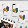 Image of Painted Heart Phone Case