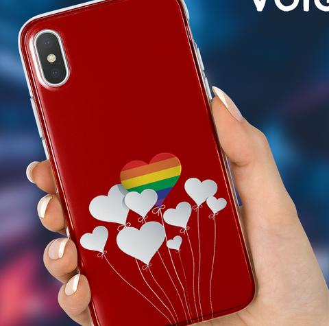 Love Balloons Phone Case