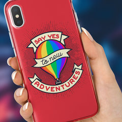 """Say Yes To New Adventures"" Phone Case"