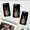 Image of Pride Peace Sign Phone Case