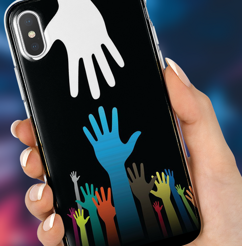 Helping Hand Phone Case
