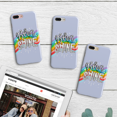 Born To Shine Phone Case
