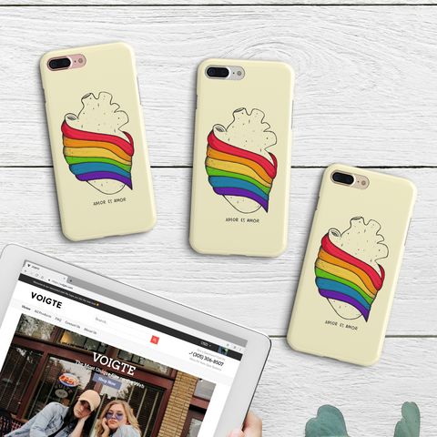 Amor Pride Phone Case