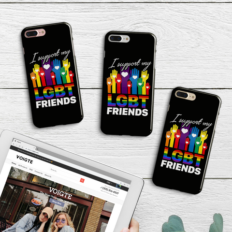 LGBT Friends Phone Case