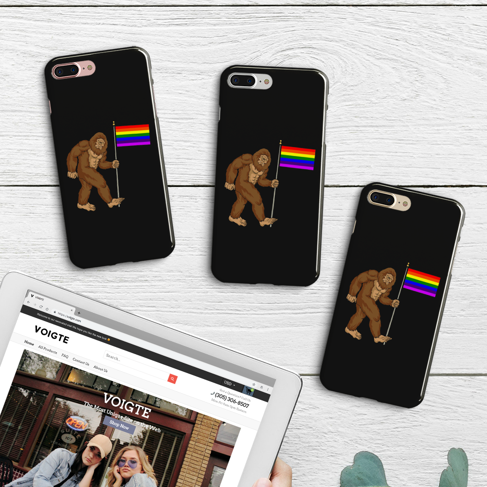 Big Foot Pride Phone Case