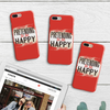 "Image of ""Pretending To Be Happy"" iPhone Case"