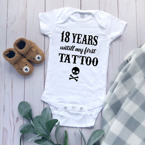 """First Tattoo"" - Baby Bodysuit"