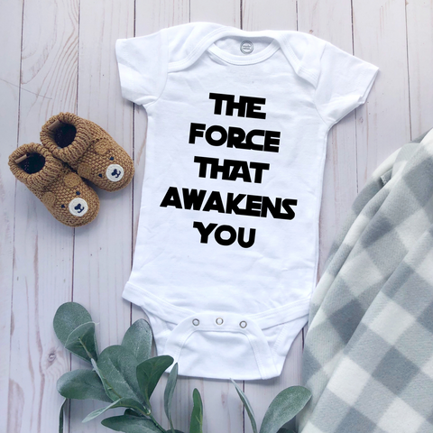 """The Force"" - Baby Bodysuit"