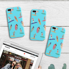 Lady Surfers iPhone Case