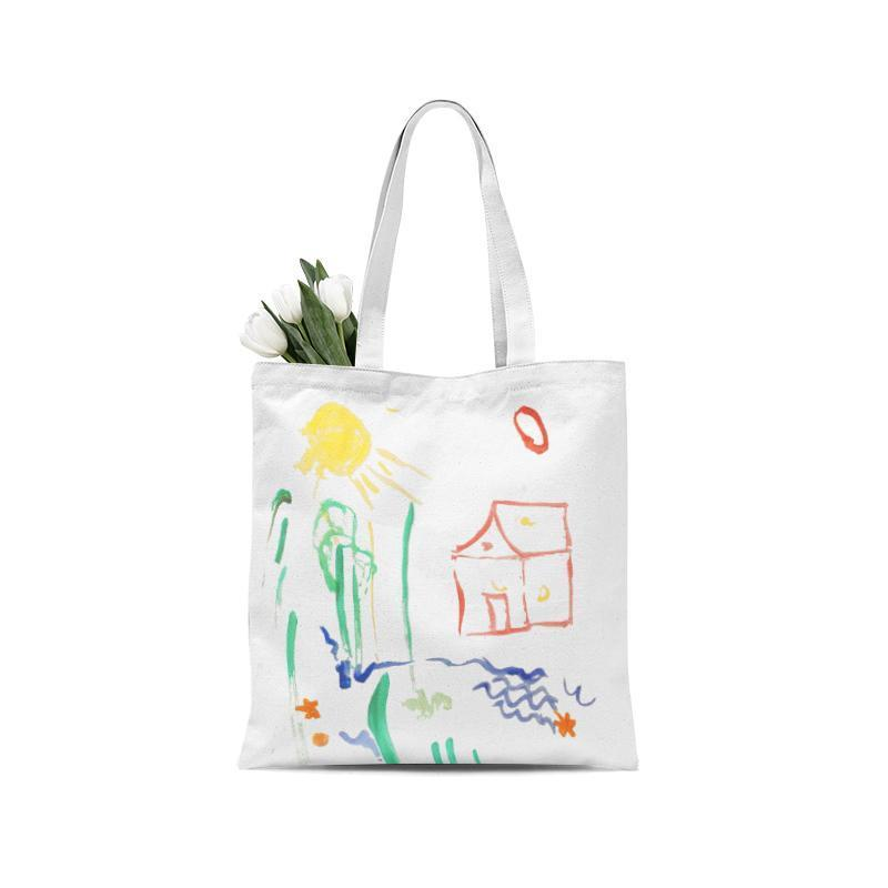 Custom Tote Bag with artwork