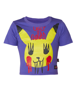 Pika Punk Crop T