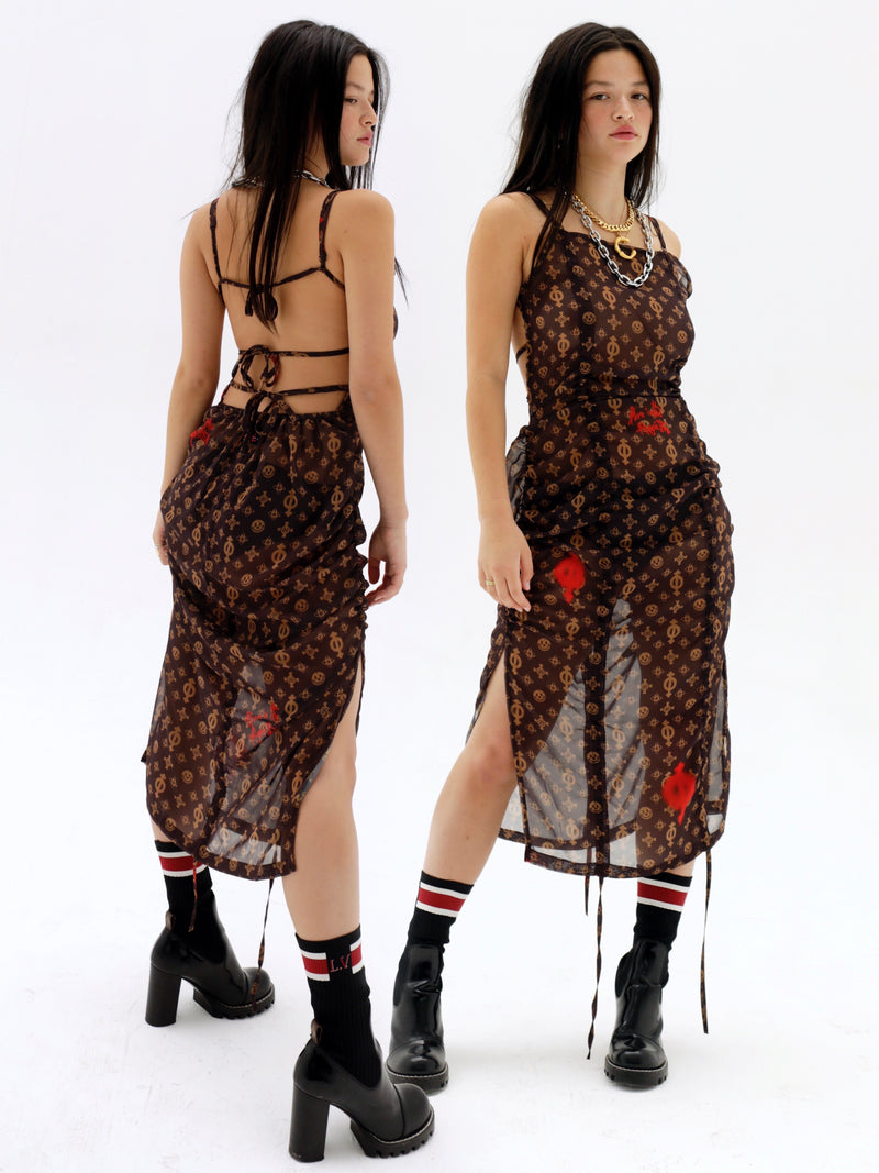 Algorithm Dress (Brown S,M /Red S- Pre-Order 8/18)