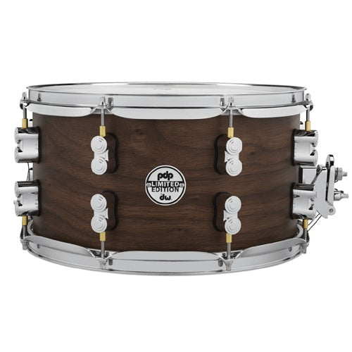 "DW PDP Limited Edition 20-Ply Maple/Walnut 7""x13"" Snare Drum"