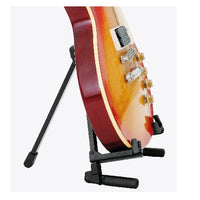 K&M 17550 »Memphis Travel« Guitar Stand, Black