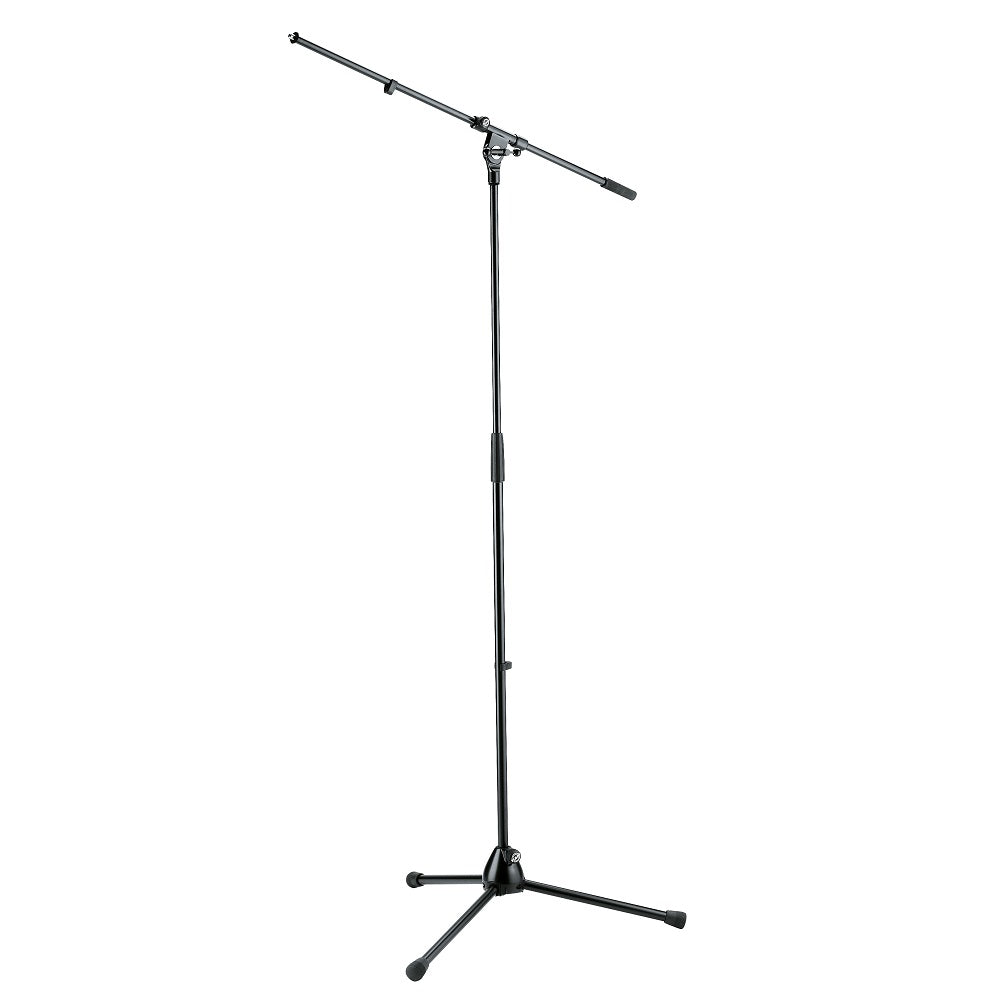 K&M 210/2 Microphone Stand, Black