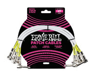 Ernie Ball Patch Cable 3-Pack