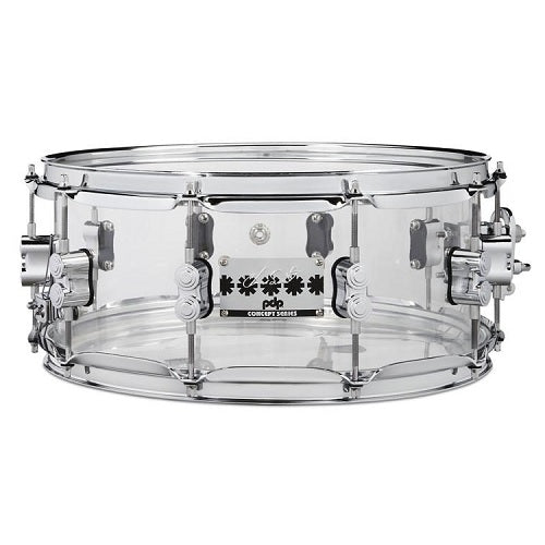 DW PDP Chad Smith Signature Acrylic 6x14