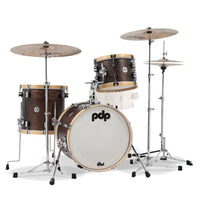 DW PDP Concept Maple Classic Shell Pack, 3-piece Bop Kit - Walnut Stain