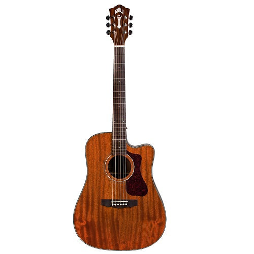 Guild D-120CE Dreadnought Cutaway Acoustic-Electric Guitar - Natural