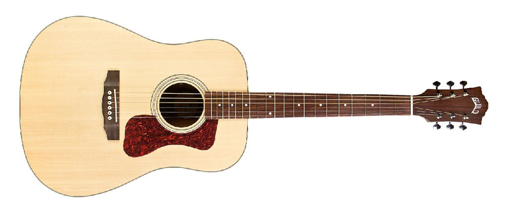 Guild D-240E Dreadnought Acoustic-Electric Guitar - Natural