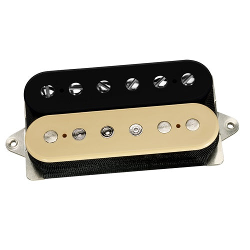 DiMarzio DP261FBC PAF® Master Bridge Pickup, F-Spaced, Black/Creme