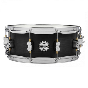 "DW PDP Concept Black Wax All-Maple 5.5""x14"" Snare Drum"