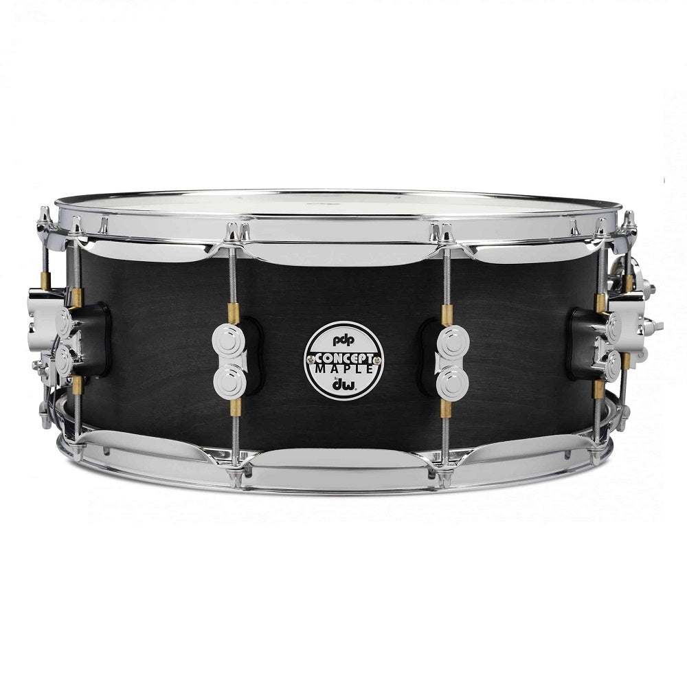 DW PDP Concept Black Wax All-Maple 5.5