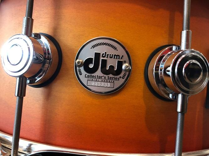 Dw Usa Collector All-Maple 6.5X14 Snare Drum Satin Specialty Classic Burst Chrome Hardware Drums