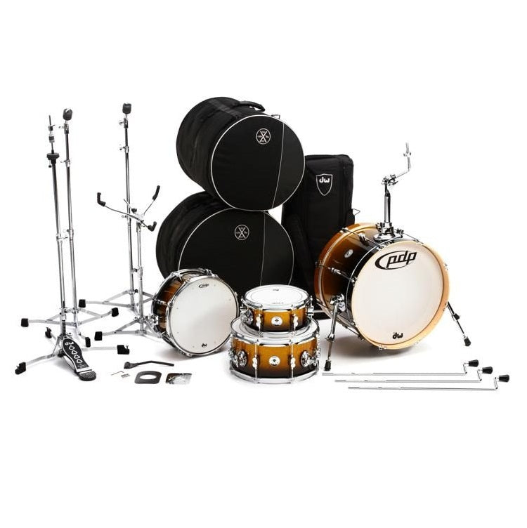 DW PDP Daru Jones New Yorker 4-pc Drum Kit