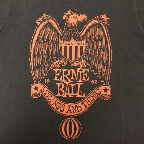 Ernie Ball 1962 Strings and Things T-Shirt, Vintage Black