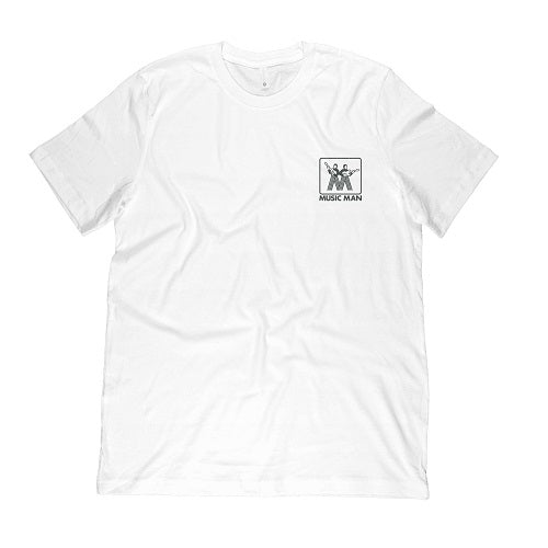 Ernie Ball Music Man Vintage Logo T-Shirt, White