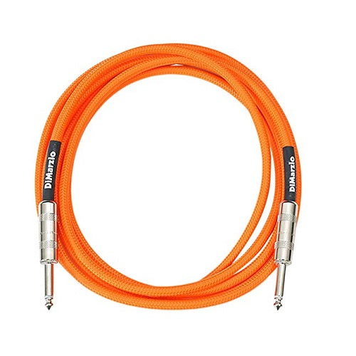 "DiMarzio EP1718 18-ft Overbraid Instrument Cable, Straight 1/4"" Ends"
