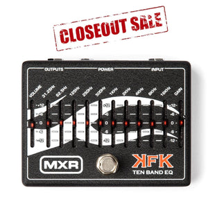 MXR® Kerry King Ten Band EQ Pedal *Close-Out Sale*