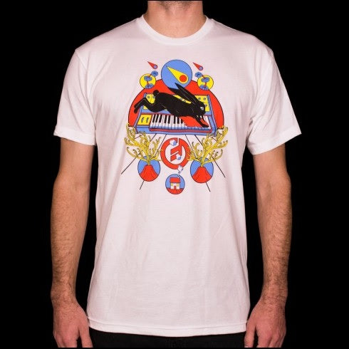 Moog Analog Dream T-Shirt, White