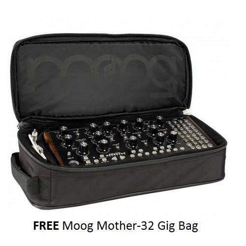 Moog Mother-32 Semi-Modular Analog Synthesizer (Free Gig Bag)