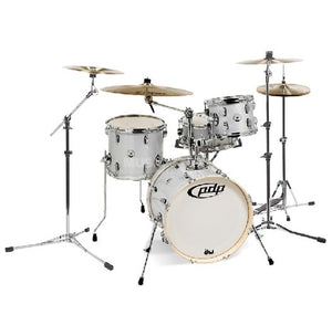 DW PDP New Yorker 4-pc Drum Kit with Hardware - Diamond Sparkle