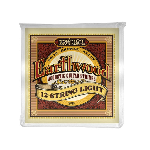 Ernie Ball Earthwood Light 12-Strings 80/20 Bronze 9-46 Acoustic Guitar Strings
