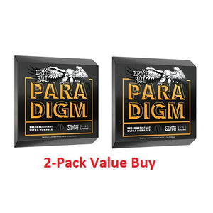 Ernie Ball Paradigm Hybrid Slinky 9-46 Electric Guitar Strings - 2 Pack