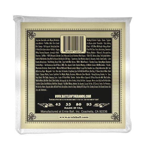 Ernie Ball Earthwood Phosphor Bronze 45-95 Acoustic Bass Strings