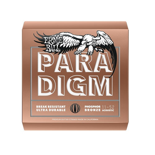 Ernie Ball Paradigm Light Phosphor Bronze 11-52 Acoustic Guitar Strings