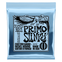 Ernie Ball Nickel Wound 9.5-44 Primo Slinky Electric Guitar Strings