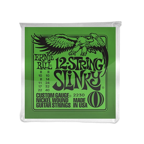 Ernie Ball Slinky 12-String Nickel Wound 8-40 Electric Guitar Strings