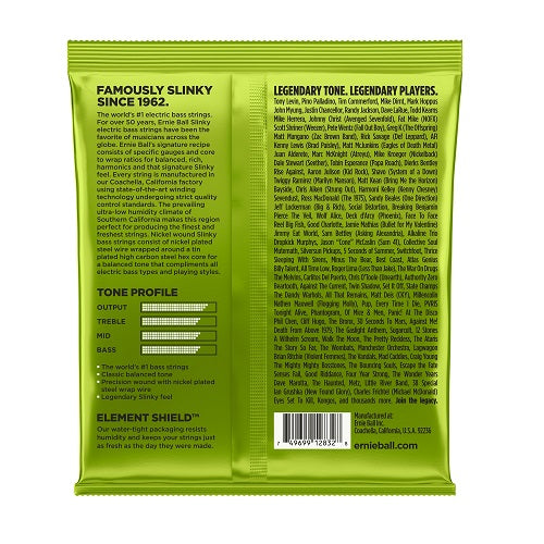 Ernie Ball Regular Slinky Nickel Wound 50-105 Electric Bass Strings