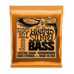 Ernie Ball Hybrid Slinky Nickel Wound 45-105 Electric Bass Strings