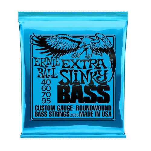 Ernie Ball Extra Slinky Nickel Wound 40-95 Electric Bass Strings