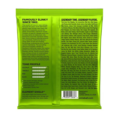 Ernie Ball Regular Slinky Nickel Wound 5-String 45-130 Electric Bass Strings