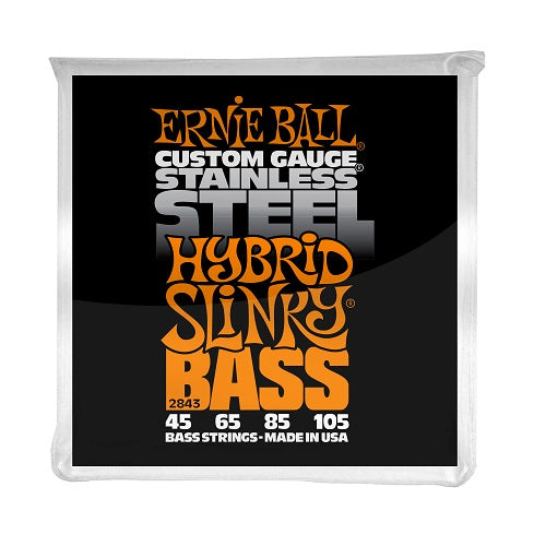 Ernie Ball Hybrid Slinky Stainless Steel 45-105 Electric Bass Strings